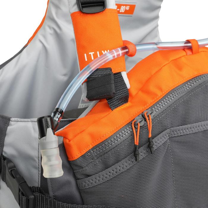 50N Buoyancy vest Pockets for canoeing and kayaking