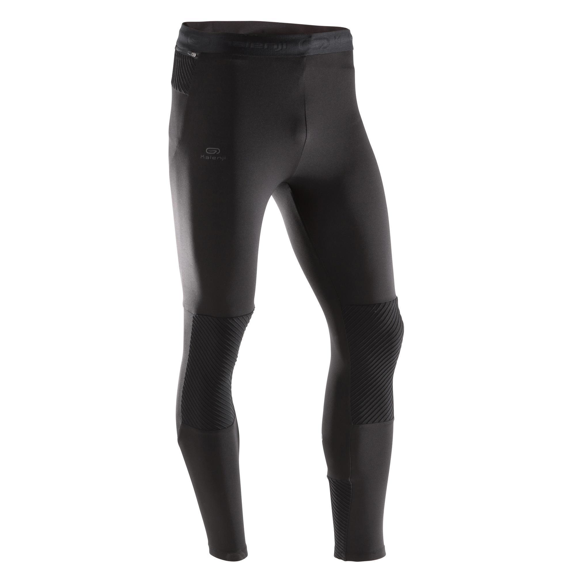 Laufhose lang Tights Run Warm+ Herren | Sportbekleidung > Sporthosen > Laufhosen | Kalenji