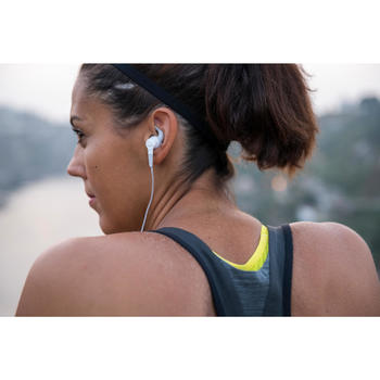 AURICULARES RUNNING ONEAR 100 BLANCO Y GRIS