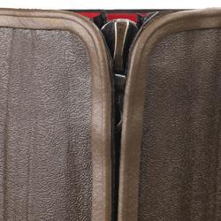 BOTTES CHASSE RENFORT 540 CHAUDES AVEC ZIP MARRON