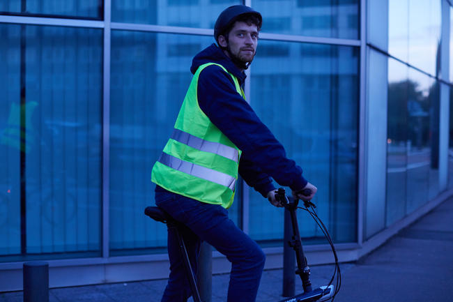 Adult High Visibility Gilet 500 - Neon Yellow
