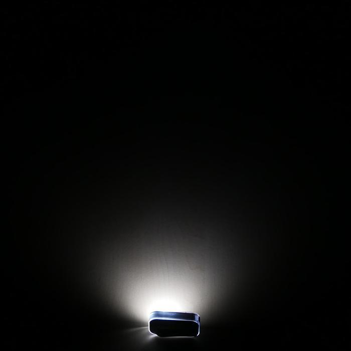 Verlichtingsset op led CL 500 voor- en achteraan USB Vioo Clip zwart