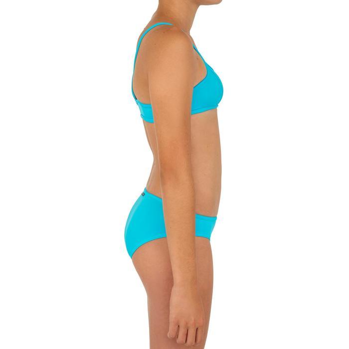 Bikini niña top BALI azul
