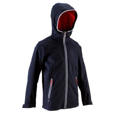 100 מעיל גשם לשיט לילדים - כחול כהה