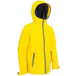 100 Kids' Waterproof Sailing Oilskin - Yellow