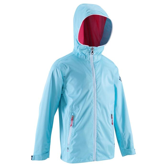 100 Kids' Waterproof Sailing Oilskin - AO Blue