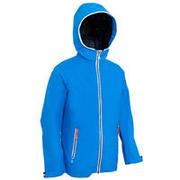 Modra jadralna vodoodporna jakna 100 za otroke