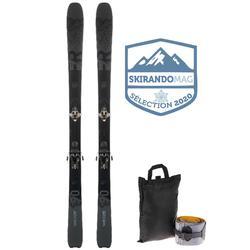 Esquí Freeride Travesía FR 950 negro