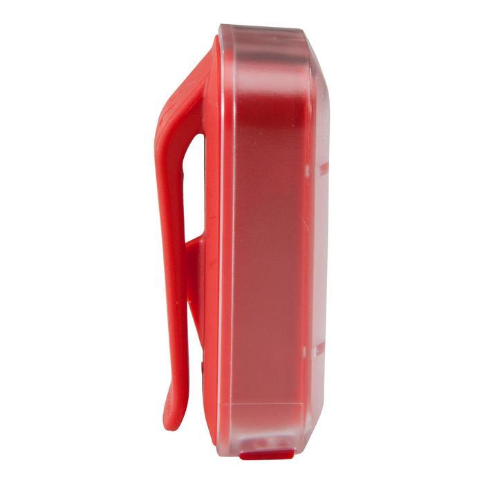 LUZ LED BICICLETA VIOO CLIP 500 ROJO USB