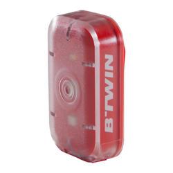 LUZ LED BICICLETA VIOO CLIP 500 KIT DELANTERO Y TRASERO ROJO USB