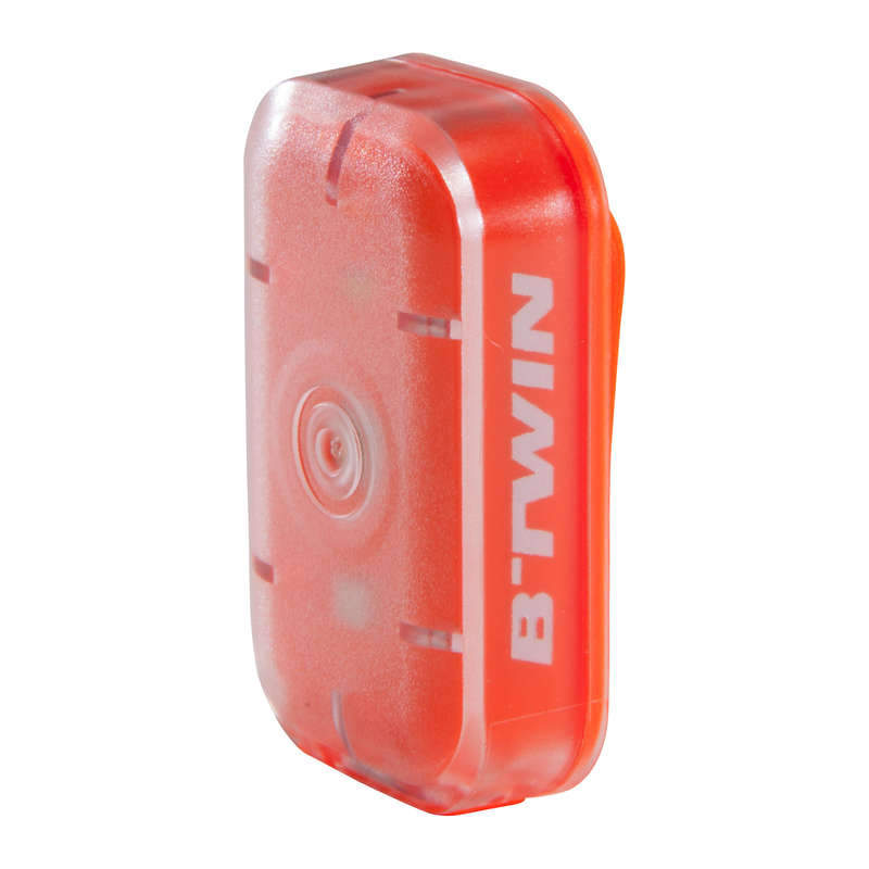 LUCI Ciclismo, Bici - Luce led CL 500 USB arancione BTWIN - ACCESSORI BICI BAMBINO