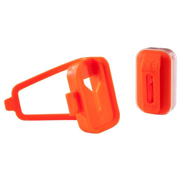 ECLAIRAGE VELO LED CL 500 AVANT/ARRIERE ORANGE USB