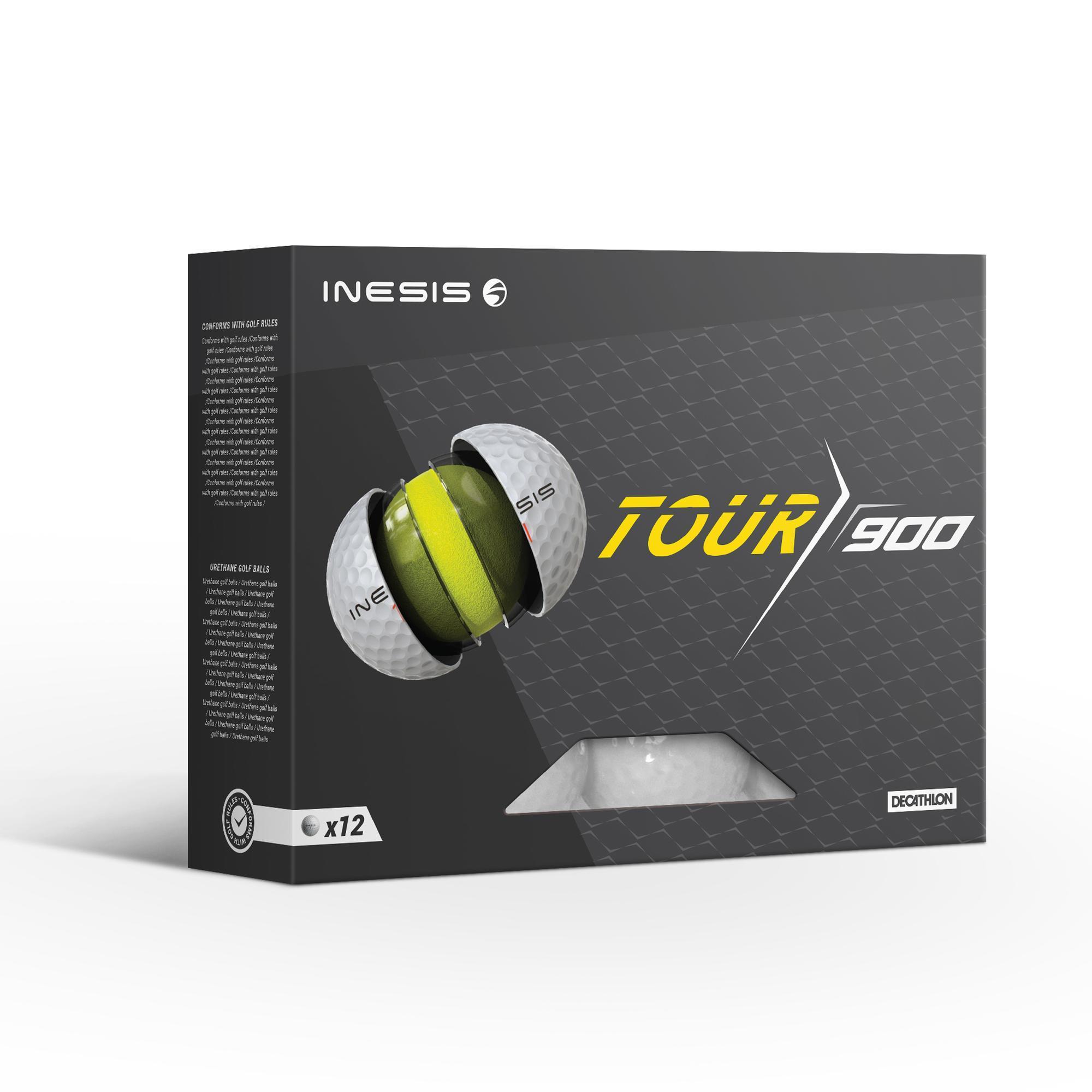 Inesis Golfbal Tour 900 x12 wit thumbnail