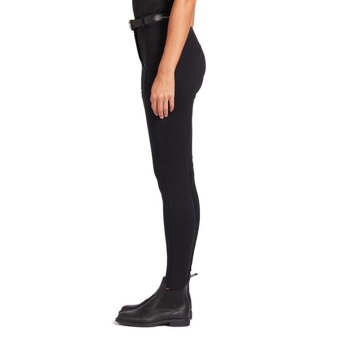 女款馬褲100-黑色