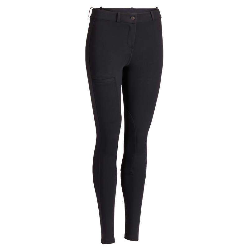 Îmbrăcăminte echitație damă Produse mărimi mari Femei - Pantalon Echitație 100 Damă  FOUGANZA - FEMEI