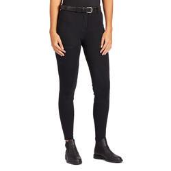 Pantalon équitation femme 100 noir