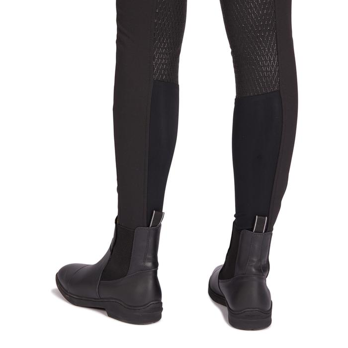 Reithose 560 Jump Silikon Damen schwarz