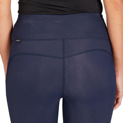 Pantalon équitation femme 100 Léger marine