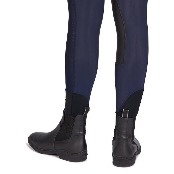 Damesrijbroek 100 Light marineblauw