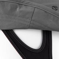 Sombrero Protección Solar UPF50+ de surf Olaian hombre gris