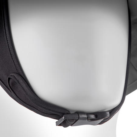 Sombrero de surf hombre gris Protección ultravioleta Olaian