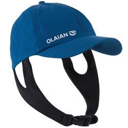 Gorra de surf hombre azul protección ultravioleta Olaian