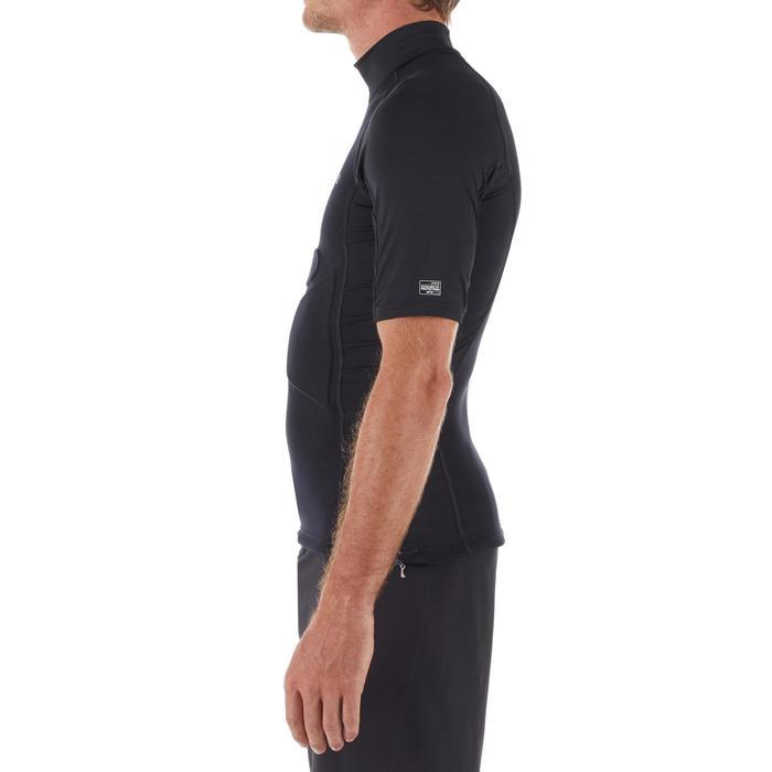 Uv-werende rashguard voor heren peddelcomfort zwart