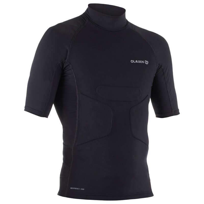 PROTECTION SOLAIRE HOMME Vattensport och Strandsport - Rashguard EZPAD H HERR SVART OLAIAN - UV-Kläder, Rashguard och Solskydd