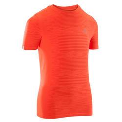 Skincare children's athletics T-shirt red