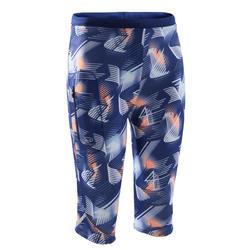 Run Dry children's athletics cropped bottoms - blue print