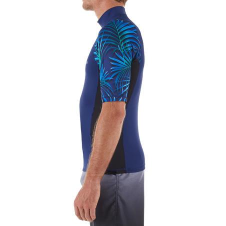 T-shirt de surf anti-UV à manches courtes500– Hommes
