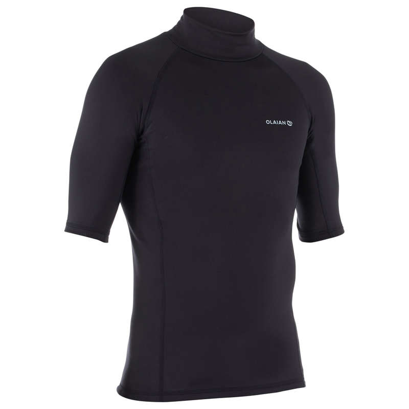 COLD WATER THERMAL ACCESSORIES Surf - UVTHERS M Top - Black OLAIAN - Surf Clothing