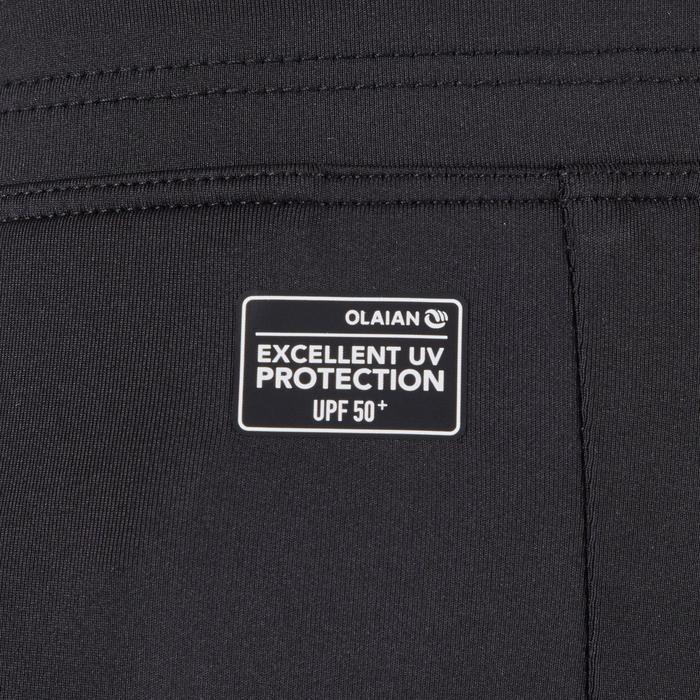 3/4-Hose Tights 500 UV-Schutz schwarz