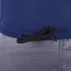 UV-Shirt langarm Surfen Top 500 Herren Cosmos blau