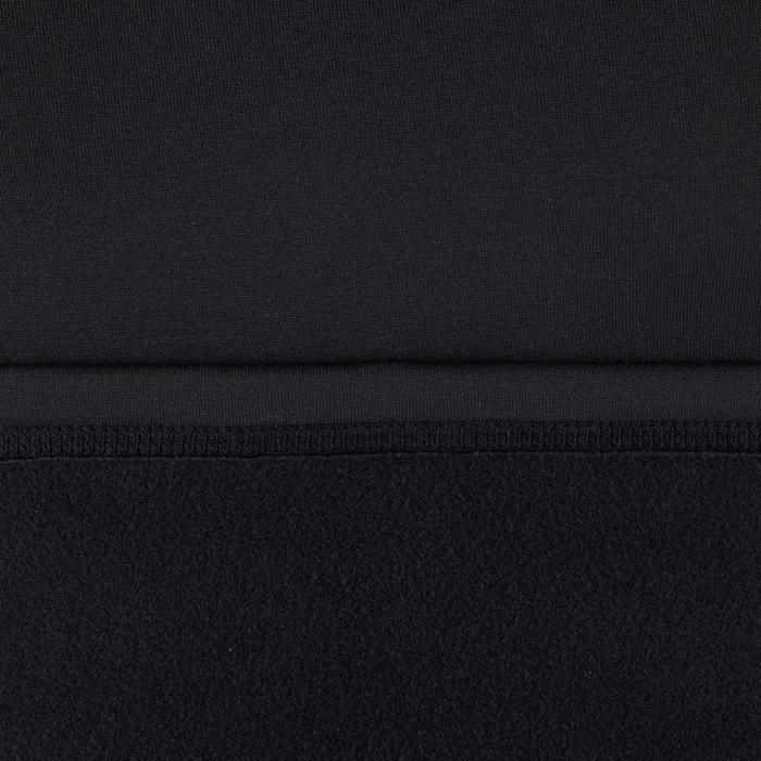 Top Camiseta Proteción Solar Playa Surf Olaian Top900 Hombre Negro ANTI-UV