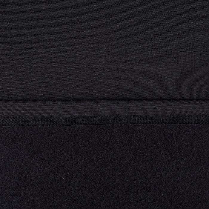 Thermische en uv-werende rashguard 900 met korte mouwen voor heren zwart
