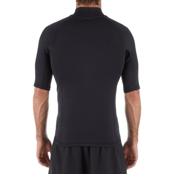 Thermo-Shirt kurzarm UV-Schutz Top 900 Fleece Herren schwarz
