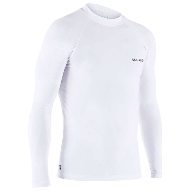 UV-Schutz Herren Damenbekleidung - UV-Shirt Top 500L Herren OLAIAN - Oberbekleidung Damen