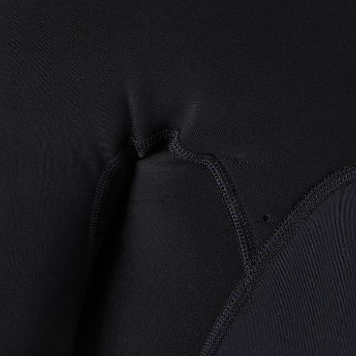 Neoprenanzug Shorty 900 Surfen 2 mm No Zip Herren schwarz