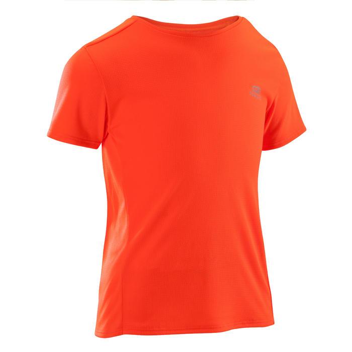 Atletiek T-shirt voor kinderen Run Dry fluorood