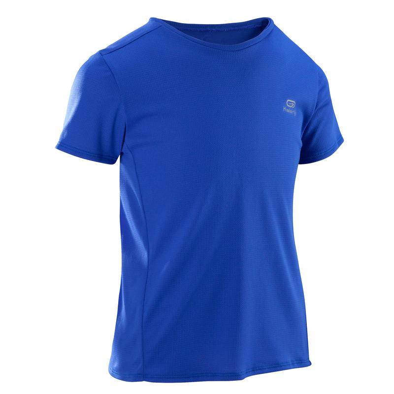 Run Dry children's athletics T-shirt indigo