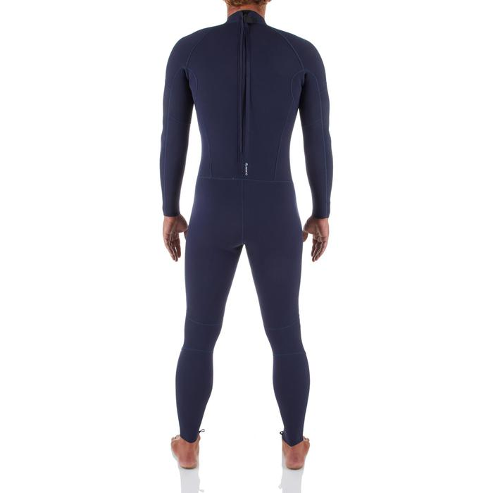 Heren surfpak 100 neopreen 2/2 mm blauw