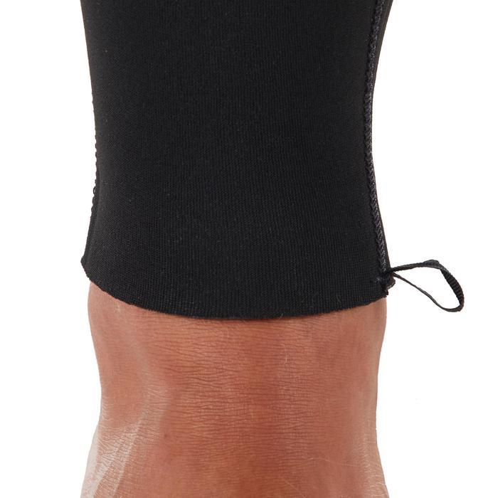 Wetsuit heren 4/3 mm 100 zwart