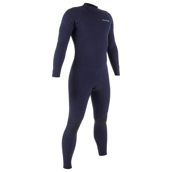 Heren wetsuit 100 neopreen 2/2 mm blauw