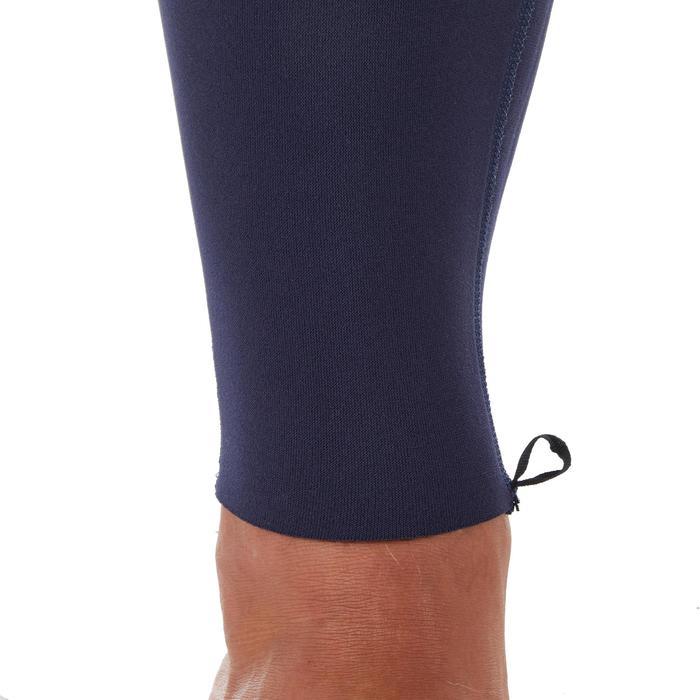 男款衝浪2/2 mm氯丁橡膠(neoprene)防寒衣100-藍色