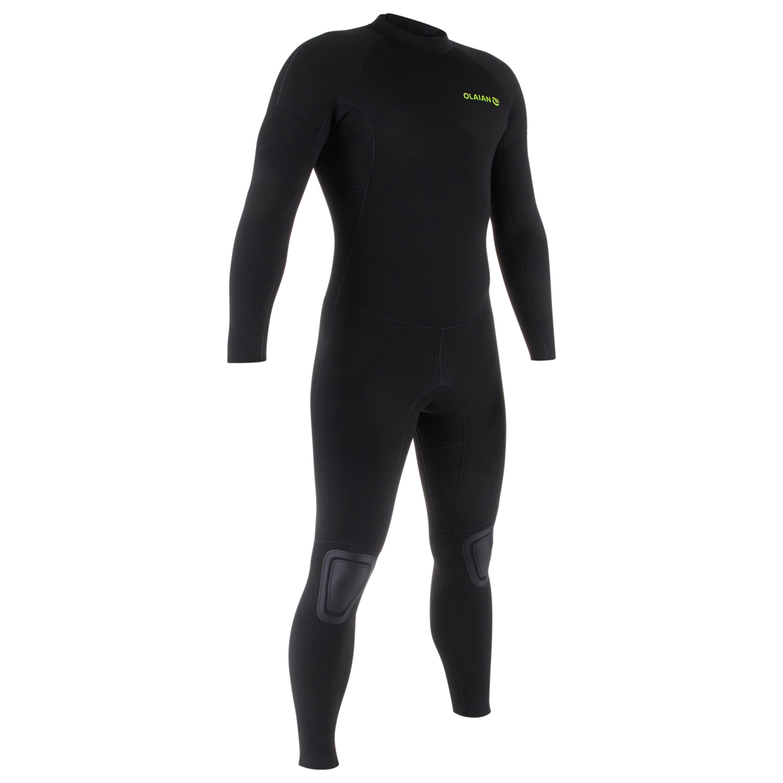 Traje SURF 100 Neopreno 4/3 mm hombre negro