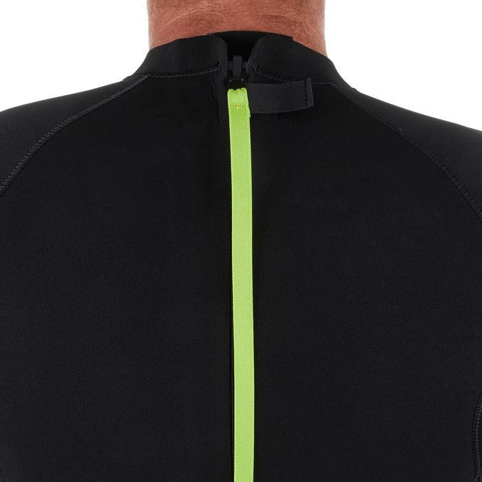 Wetsuit voor surfen heren 100 neopreen 4/3 mm zwart