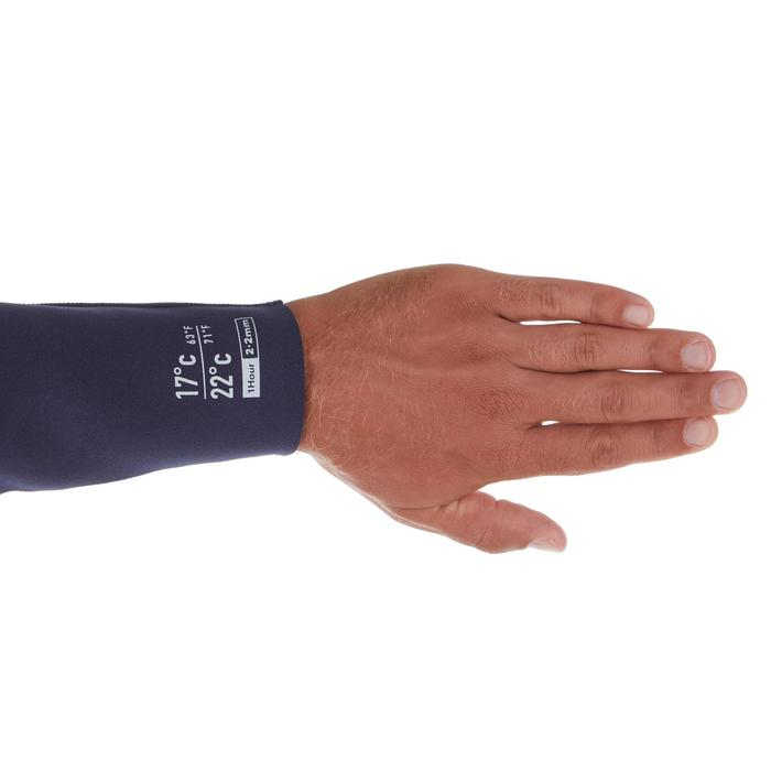 Surfpak voor heren 100 neopreen 2/2 mm blauw