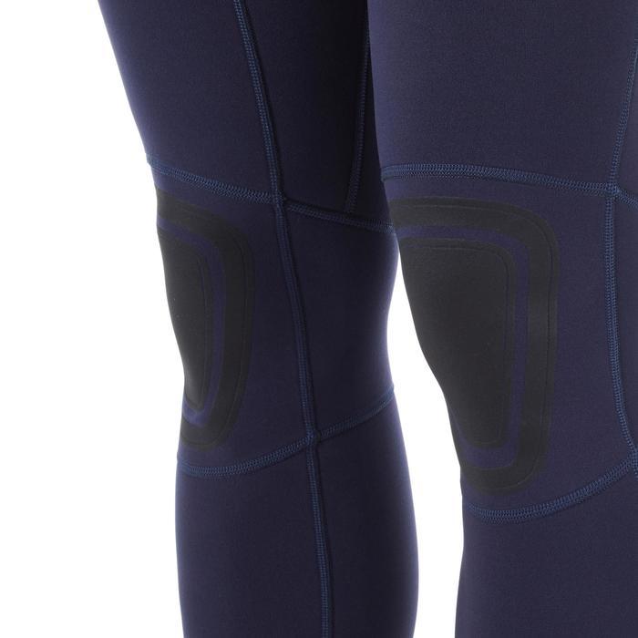 Heren wetsuit 100 2/2 mm blauw