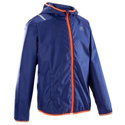 CHILDREN'S ATHLETICS WINDBREAKER BLUE NEON RED